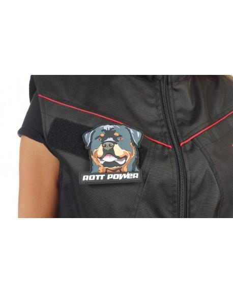 3D Badge velcro Rotti-Power