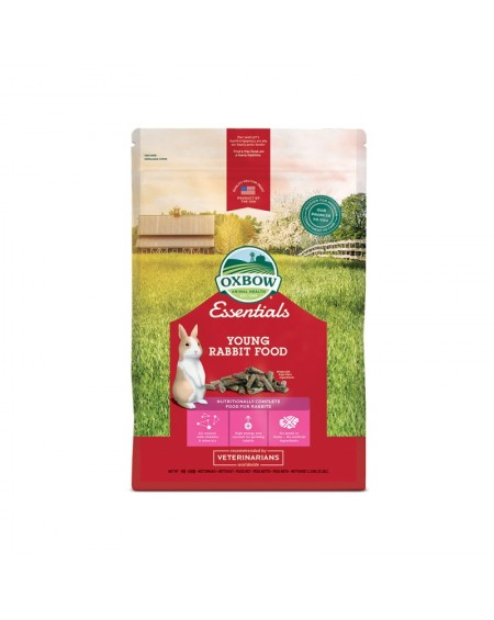 OXBOW Πλήρης τροφή Junior Rabbit