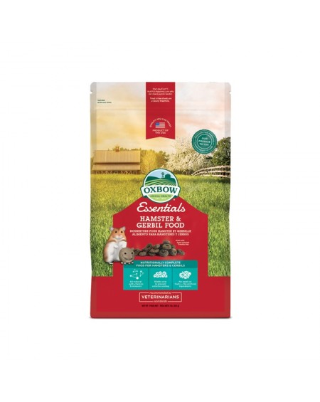 OXBOW Πλήρης τροφή Hamster/Gerbil