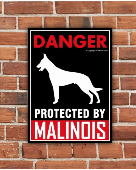 K9-evolution™ Guard plate Malinois