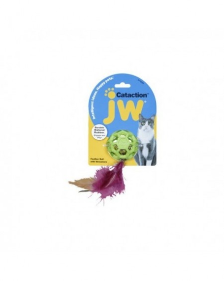 JW Citation Feather Ball with Bell