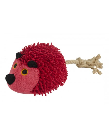FUZZLE HEDGEHOG WITH TAIL RED