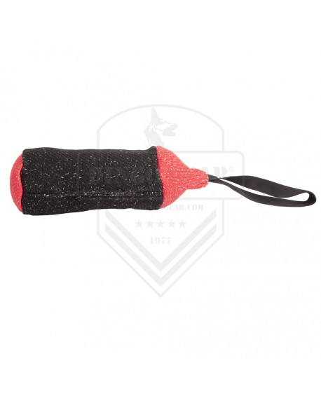 Training toy dog material French (nylcotu) roller 25x8cm